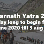 amarnath yatra 2020 dates announced